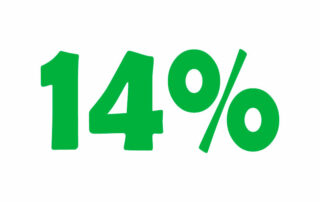 14% НДС онлайн калькулятор. Добавьте или вычтите 14% налога
