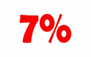 7% НДС онлайн калькулятор. Добавьте или вычтите 7% налога