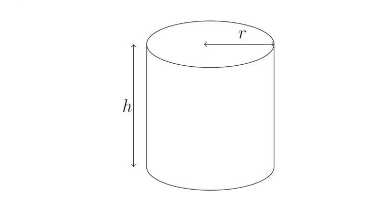 Онлайн калькулятор объёма цилиндра в нескольких величинах