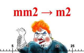 Онлайн калькулятор мм2 в м2. Удобный и быстрый конвертер